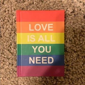 Love is all You Need Quote Book